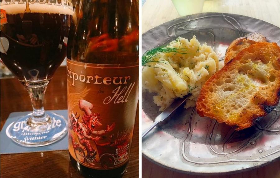 旬の酒と肴を楽しむ~アカデミア横丁~(10月)『秋の夜長にワインの様に楽しむベルギービール 第2弾!3種呑み比べ編』