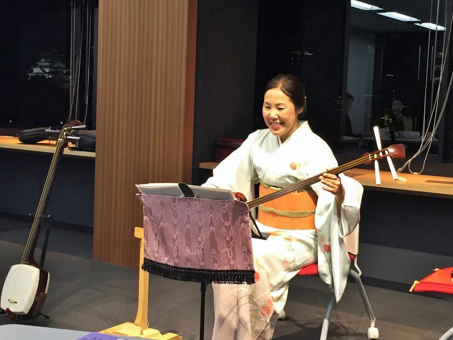 三味線&日本舞踊ライブ