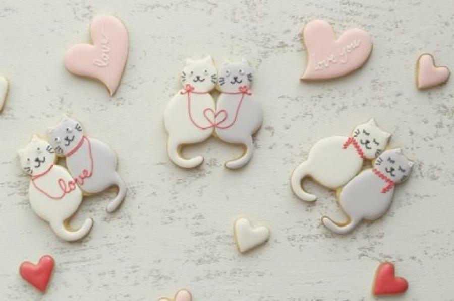 バレンタインにサクっと楽しむ!!アイシングクッキー教室