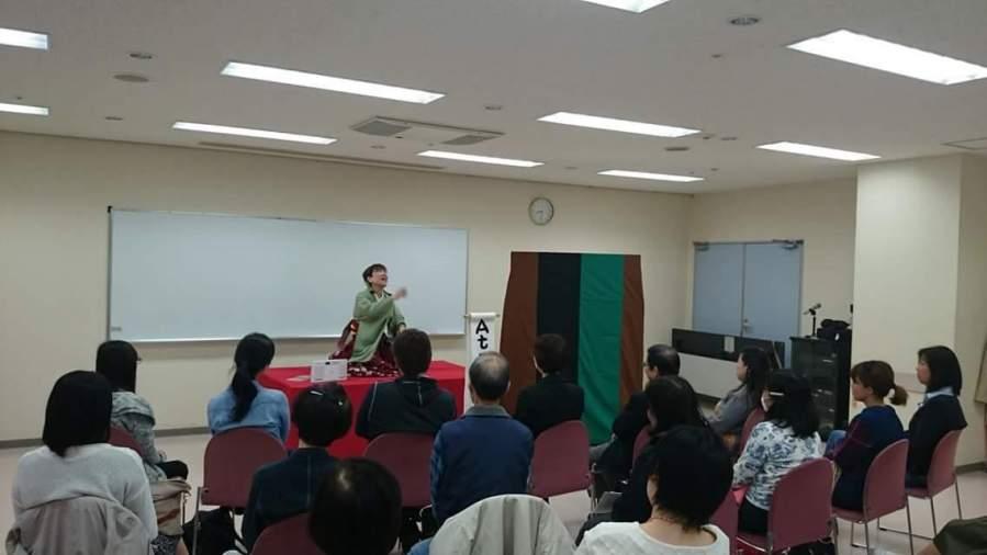 小夜姫英語落語会 in 京橋