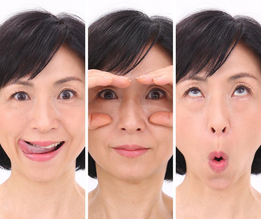 第一印象を変える顔ヨガレッスン ~口角アップ編~