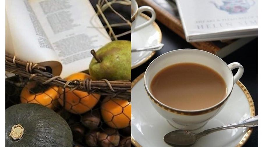 OBP紅茶倶楽部 深まる秋を英詩と楽しむティータイム♪
