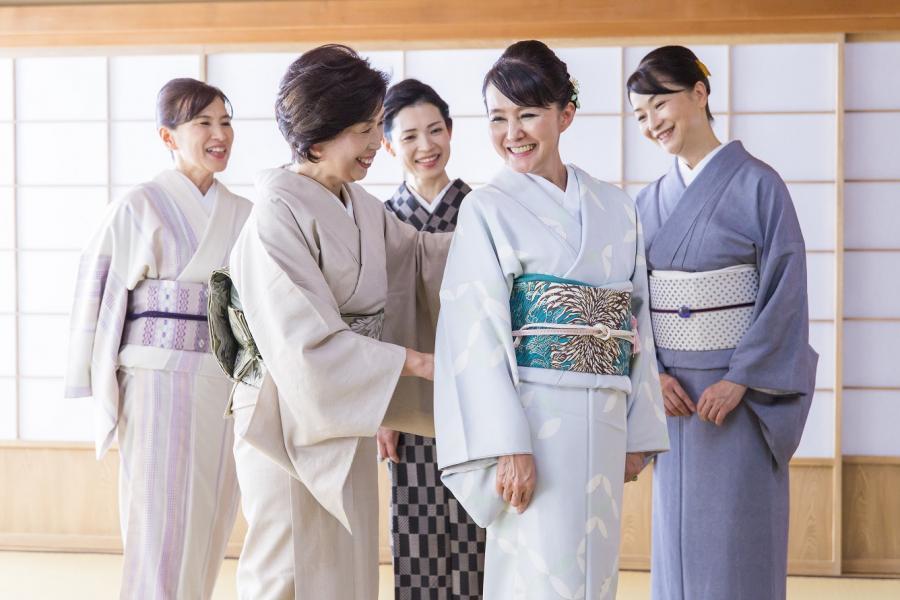 日本和装の無料きもの着付け教室 体験会