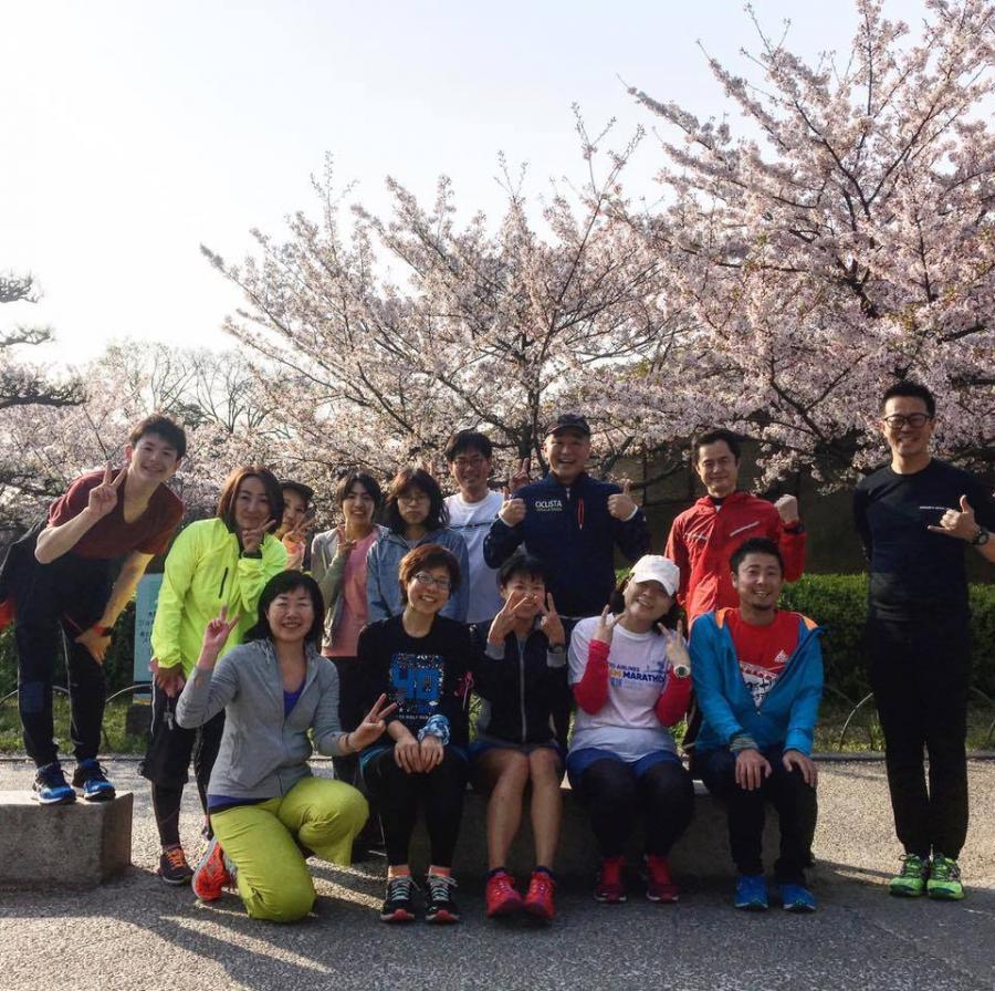 OBPランニングサークル(4月)