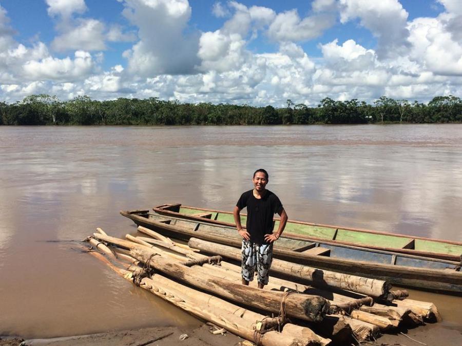 冒険家 返町亮トークライブ ~アマゾン河筏下りに見た『生きるということ』~