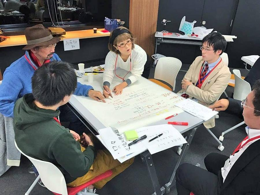 対話による未来共創の場(フューチャーセッション)体験セッション