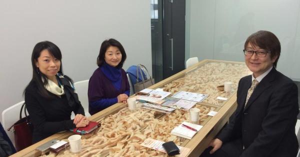 本日、古事記朗読会で活躍されている萩野恵美子さんと打ち合わせをさせていただきました。