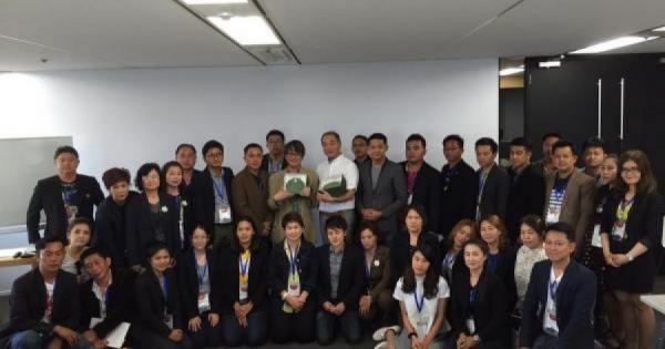 タイのビジネスリーダー40人がOBPアカデミアを視察!